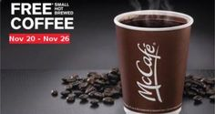 FREE Coffee at McDonald's on http://www.freebiescouponsdeals.com/