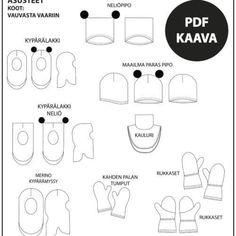 Naisten mekko 32-56 ⋆ Jujuna Pdf, Mini