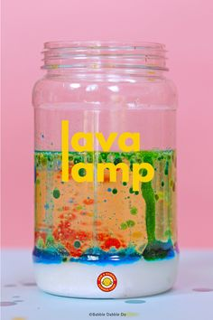 Lava Lamp For Kids, Make A Lava Lamp, Kids Lamps, Lava Lamps Diy, Science For Toddlers, Toddler Science Experiments, Fun Activities For Kids, Kid Activites, Kid Science