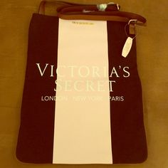 Victoria's Secret cross body. New York/Paris. Brand new with tags limited edition Victoria's Secret Cross-body bag! Beautiful and stylish item. Will go well with beige or black outfit! Beautiful and super versatile bag which can compliment you weekend or gym routine! Victoria's Secret Bags Crossbody Bags