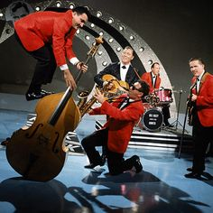 """Bill Haley & the Comets had the first #1 rock and roll hit with """"Rock Around the Clock"""" in 1954"""