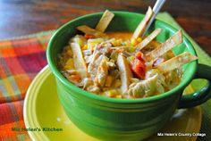 Miz Helen's Country Cottage: Southwest Chicken Soup