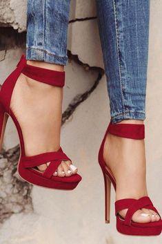 high heels – High Heels Daily Heels, stilettos and women's Shoes Stilettos, Pumps Heels, High Heels Sandals, Strap Sandals, Woman Shoes High Heels, Red Stiletto Heels, Red Sandals, Strappy Heels, High Heel Pumps