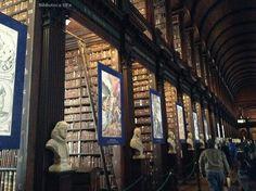 Biblioteca del #Trinity_College en Dublín. Imagen de nuestra compañera Marisol Gordillo #bibliotecarios #uex #biblioteca