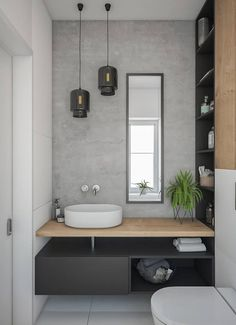 Gorgeous 60 Modern Farmhouse Small Bathroom Remodel Decor Ideas High-design fads not just look stunning however include worth to your bathroom remodel. Right here are our preferred bathroom renovation ideas to include currently. Bad Inspiration, Bathroom Inspiration, Shower Remodel, Remodel Bathroom, Budget Bathroom, Condo Remodel, Bathroom Interior Design, Interior Modern, Diy Interior