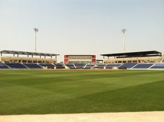 Outfield view of the field at Pensacola's Multi-use Stadium