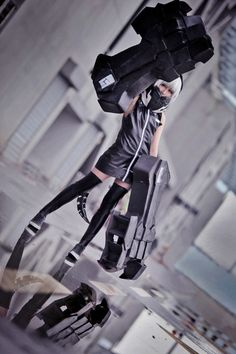 Strength from Black Rock Shooter