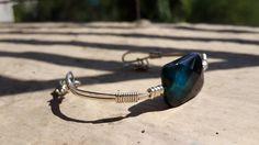 Silver Wrap Bracelet - Delicate Jewelry - Mythika Handmade Jewelry by Priya Jhavar