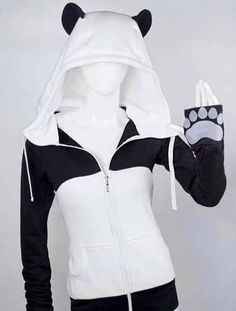 The coolest panda hoodie ever!