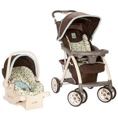 Saunter Luxe Travel System - Owls