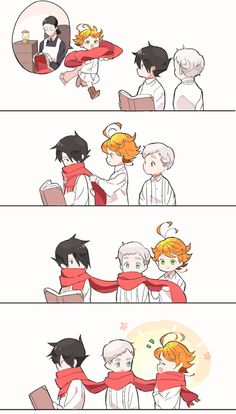 This is a fansub for the hit manga and anime, The Promised Neverland! Haikyuu Anime, Anime Chibi, Kawaii Anime, Manga Anime, Fanarts Anime, Anime Films, Anime Characters, Anime Love, Anime Guys