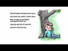 Appar, Learn Swedish, Reggio, Nursery Rhymes, Preschool, Learning, Youtube, Communication, Studying