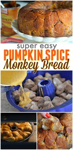 Pumpkin Cheesecake MonkeyBread