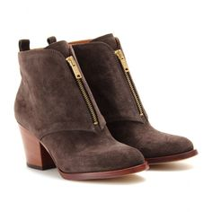 Aurely Suede Ankle Boots - Marc by Marc Jacobs ◊ mytheresa