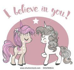 two little unicorns