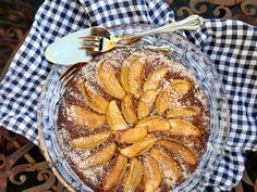 Eleanor Ozich uses classic Mediterranean flavours to create this luxurious gluten-free cake