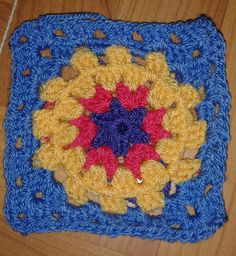 Ravelry: Project Gallery for Free SmoothFox's Charity Square Nbr 1 pattern by Donna Mason-Svara