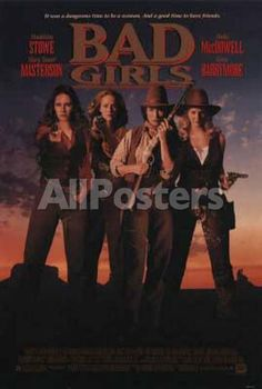 Bad Girls by House of Borders Movies Original Poster - 69 x 104 cm