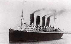RMS Mauretania sister ship to the Lusitania