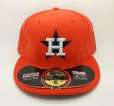 HOUSTON ASTROS ALTERNATE NEW ERA 59FIFTY FITTED HAT/CAP (7 3/4) -- NEW #NEWERA59FIFTY #HOUSTONASTROS