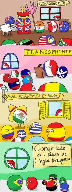 Family reunion - poor italy #spanish #portuguese #english -