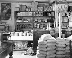 Vintage General Store July 1936 8x10 Reprint Of Old Photo