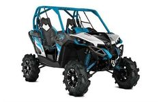New 2016 Can-Am Maverick X mr -Hyper Silver, Black & Octane Blue ATVs For Sale in Missouri. Horsepower matters when it comes to mud riding. That's why the Outlander 1000R X mr is built with an 89-hp Rotax® 1000R V-Twin engine. Take on any mud hole with confidence and best-in-class power.Highlights 101-hp Rotax® 1000R V-twin engine with high-flow dynamics Tri-Mode Dynamic Power Steering (DPS) Visco-Lok® QE auto-locking front differential Intelligent Throttle Control (iTC) Continuously…