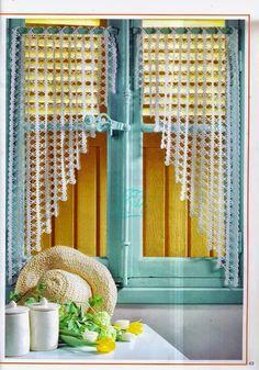 Tende all\'uncinetto che passione | MAMMA E CASALINGA | crochet ...