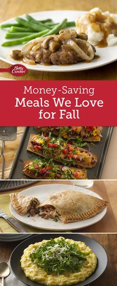From smothered chicken to creamy polenta, these warm recipes for cool days are a steal at less than $2.50 per serving!
