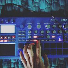 Repost @annasoares77  Regalo di compleanno da me a me  Sono una bimba felice! . . . . . . . . #korg #electribe #electribe2 #korggadget #electronic #music #electropop #device #groovebox #groove #livesampler #sampler #sampling #blue #triphop #mymusic #lovemusic #livemusic #vibe #goodvibes #newmusic #future #instamusic #instalike #instagood #instagram #tagsforlike #vscoitaly #like4like
