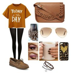 """""""Brown = Different <3"""" by weirdlikethat ❤ liked on Polyvore"""