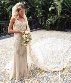This Street Style Star Had the Most Dramatic Wedding Veil via @WhoWhatWearUK