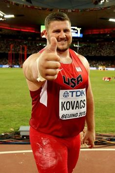 .Joe Kovacs at the IAAF World Championships, Beijing 2015 (Getty Images)
