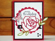 Peanuts and Peppers Papercrafting: Try It Thursday - New Stampin' Up! Rose Wonder Bir...