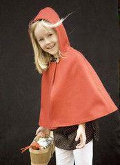 Little red-ridinghood cape - Patouche