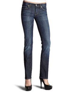7 For All Mankind Women's Straight Leg Jean in New York Dark, New York Dark, 32 7 For All Mankind, http://www.amazon.com/dp/B002Q8HZDE/ref=cm_sw_r_pi_dp_uhGvqb1R4VEJ2