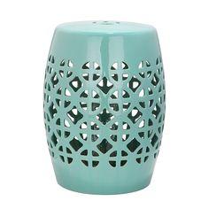 Keramikhocker Circle - Robbins Egg Blue glasiert, Safavieh Jetzt bestellen unter: https://moebel.ladendirekt.de/wohnzimmer/tische/couchtische/?uid=5189fb48-79ac-5ae3-82e1-ce7d732ba558&utm_source=pinterest&utm_medium=pin&utm_campaign=boards #möbel #beistelltische #couch #wohnzimmer #couchtische #tische #safavieh
