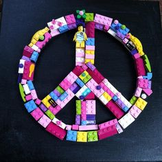 Girls Brick Peace Sign on Etsy, $65.00