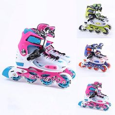 New Inline Skates Children Kid Adult Fashion Professional Breathable Rollerblade