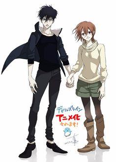 Manga 'Devil's Line' Gets Anime Adaptation - My Anime Sekai Vampire Manga, Vampire Boy, Awesome Anime, Anime Love, Anime Devil, Mini Comic, Cute Anime Couples, Animes Wallpapers, Cosplay Girls