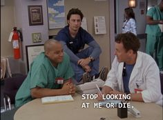 currently watching scrubs
