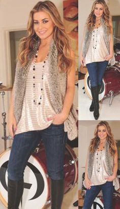 Carmen Electra in her #TartCollections top and vest!
