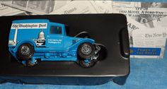 Matchbox Power of the Press The Washington Post 1930 Model A Ford Van Truck 1995 #Matchbox #ModelAFordvan