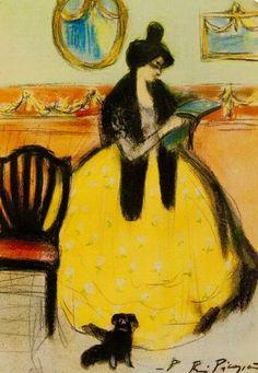 Pablo Picasso, Reading, 1901