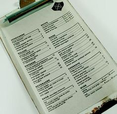 1000 images about restaurant menus on pinterest for Perfect kitchen menu harrogate