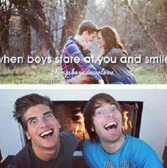 OMG Joey graceffa and Shane Dawson <3