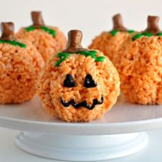 Pumpkin Rice crispy treats..
