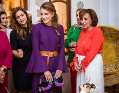 Queen Rania opened 'Vintage Dreams' handicrafts exhibition