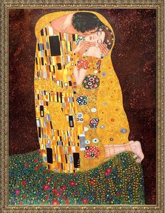 Mother and Child G.Klimt Large A2 size 42x59.4cm Canvas Print Unframed