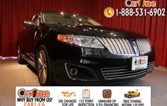Pre-owned 2010 Lincoln MKS Sedan @ CarOne Kingston.      Unheard of used vehicle financing starting at 0.9% & oil changes for life on select models! Free CarProof reports on all vehicles along with our standard 100 point inspection & certified on site 155 point inspections.    This 2010 Lincoln MKS Sedan is waiting and ready to go. Check it out at 1010 Centennial Drive  Kingston, Ontario or http://www.car1.ca.    http://car1.ca/inventory/kingston-2010-lincoln-mks-sedan-awd/